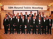 Participants in the 10th Round Table Meeting