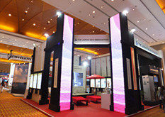 JGA exhibit booth
