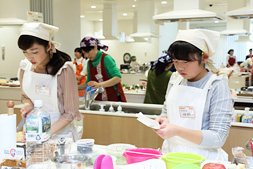 Team Oda cooking